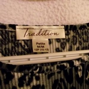 TRADITION Tops - TRADITION Women's Top, Animal Print